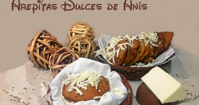 Arepitas dulces de Anís